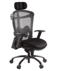 TCEZ2C:EZ2C MESH CHAIR(BLACK MESH)
