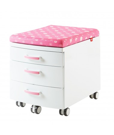 TK36LP:3-DRAWER UNIT W/SEAT